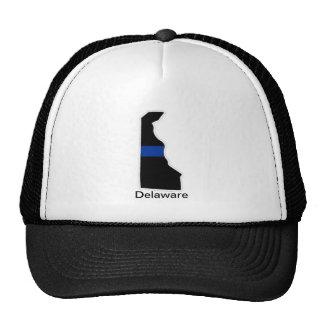 デラウェア州薄いブルーライントラック運転手の帽子 ハット