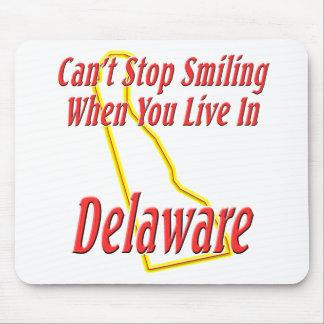 デラウェア州-微笑します マウスパッド