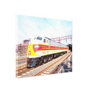 デラウェア州Lackawannaおよび西部機関車808 キャンバスプリント