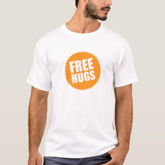 デラックスで自由な抱擁 Tシャツ
