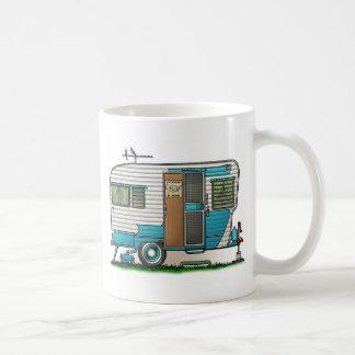デラックスなキャンピングカートレーラー コーヒーマグカップ