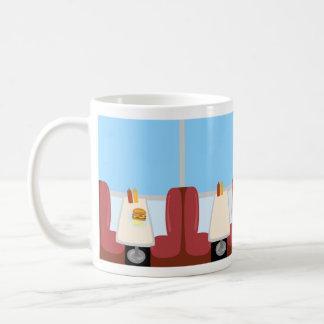 デラックスなダイナーの時間 コーヒーマグカップ