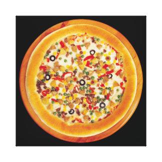 デラックスなピザ キャンバスプリント