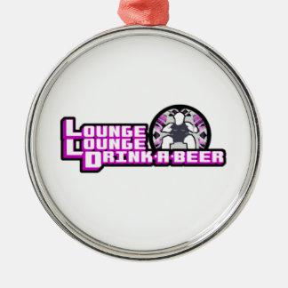 デラックスなラウンジのラウンジの飲み物ビール メタルオーナメント