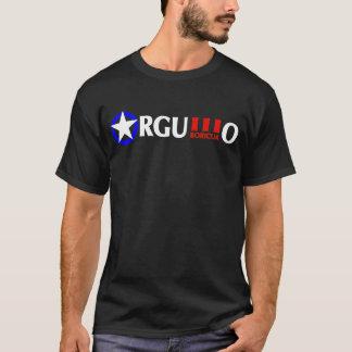 デラックスなロゴの前部及びバックのOrgullo Boricua Tシャツ