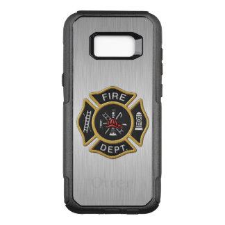 デラックスな消防署の紋章 オッターボックスコミューターSamsung GALAXY S8+ ケース
