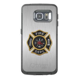 デラックスな消防署の紋章 オッターボックスSamsung GALAXY S6 EDGEケース