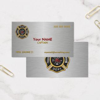 デラックスな消防署 名刺
