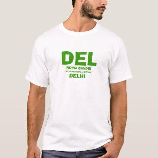 デリー(DEL)の国際空港のワイシャツ Tシャツ
