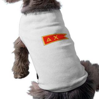 デルタのキーの旗 ペット服