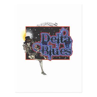デルタの青 ポストカード