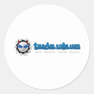 デルタの青 ラウンドシール