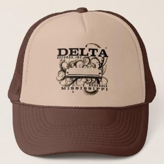 デルタは株式会社を記録します キャップ