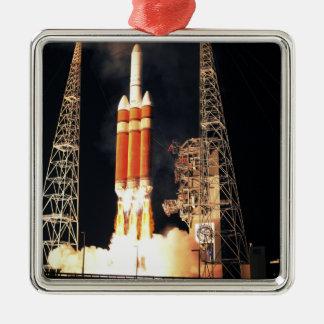 デルタIVの重いロケットは離れます メタルオーナメント