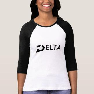 デルタLワイシャツの女性 Tシャツ