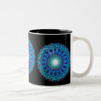 デルタSOLの宇宙のマグ ツートーンマグカップ