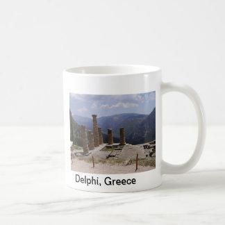 """""""デルファイのOracle """" コーヒーマグカップ"""