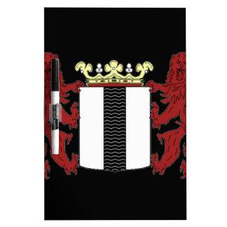 デルフトの紋章付き外衣 ホワイトボード