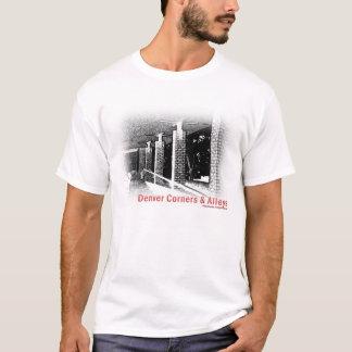 デンバーのコーナー及び細道のTシャツ Tシャツ