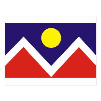デンバーの旗 ポストカード