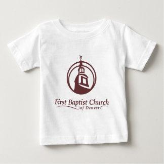 デンバーの最初バプティスト教会 ベビーTシャツ