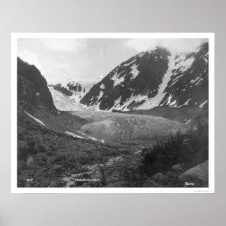 デンバーの氷河アラスカ1914年 ポスター