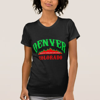 デンバーの黒 Tシャツ