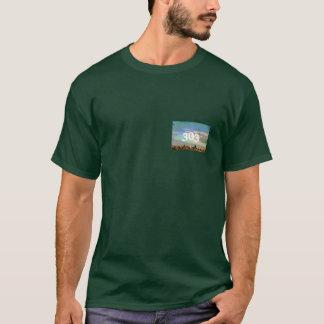 デンバーポスタースカイライン、303 Tシャツ
