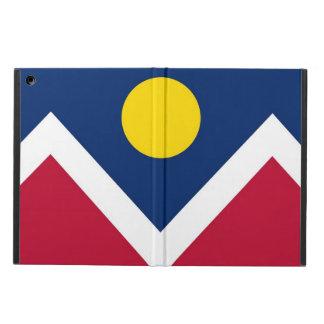 デンバー都市の旗との愛国心が強いipadの場合 iPad airケース