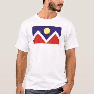 デンバー、コロラド州の旗 Tシャツ