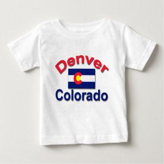 デンバー、コロラド州 ベビーTシャツ