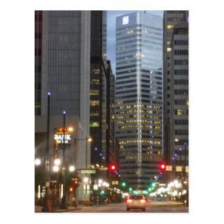 デンバー、コロラド州-マイル高い都市 ポストカード