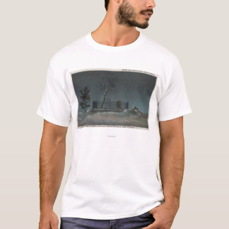 デンバー、バッファローのビルの墓の共同眺め Tシャツ