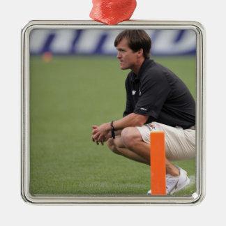 デンバー、共同7月16日:  ヘッドコーチのトムの石板 メタルオーナメント
