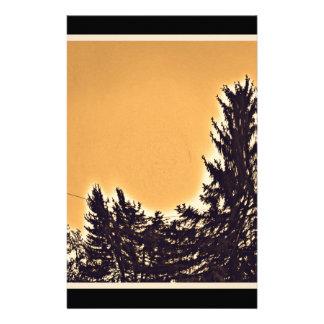 デンバー、COの松の木 便箋