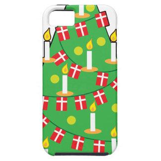 デンマークのクリスマスツリー iPhone SE/5/5s ケース