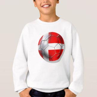 デンマークのサッカー スウェットシャツ
