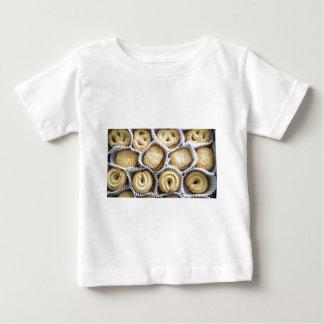 デンマークのバタークッキー ベビーTシャツ