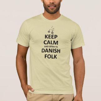 デンマークのフォーク・ミュージックに聞いて下さい Tシャツ