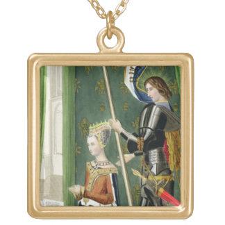 デンマークのマルグレット、スコットの(1456-86年の) afteの女王 ゴールドプレートネックレス