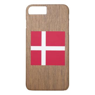 デンマークのレトロの旗 iPhone 8 PLUS/7 PLUSケース