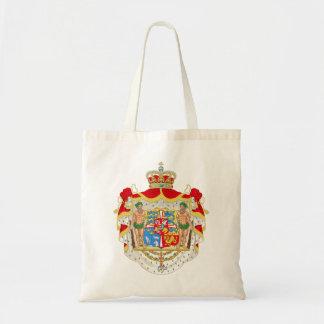 デンマークのヴィンテージのデンマークの王室のな紋章付き外衣 トートバッグ