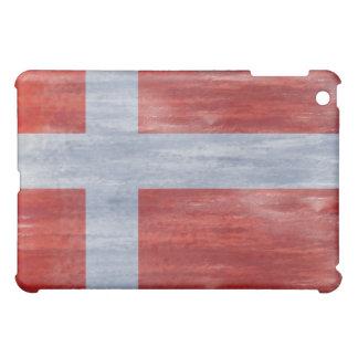 デンマークの動揺してな旗 iPad MINI CASE
