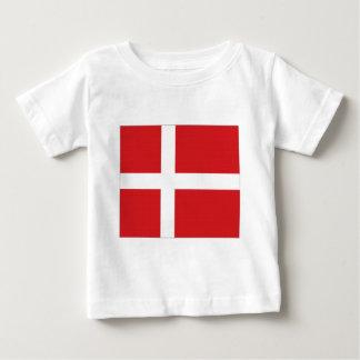 デンマークの国旗 ベビーTシャツ
