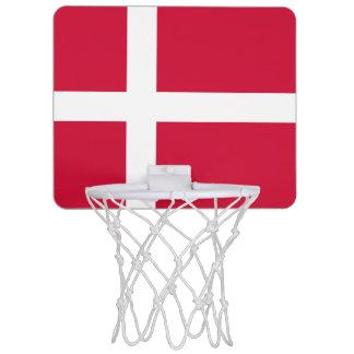 デンマークの小型バスケットボールのゴールの旗 ミニバスケットボールゴール
