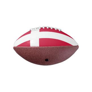 デンマークの小型フットボールの旗 アメリカンフットボール