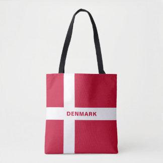 デンマークの旗のトートバック トートバッグ
