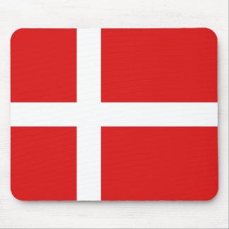 デンマークの旗のマウスパッド マウスパッド