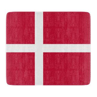 デンマークの旗 カッティングボード