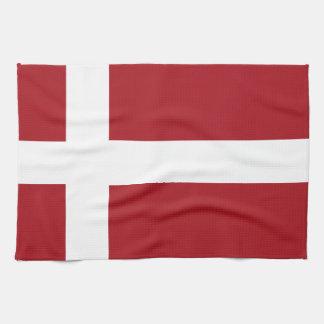 デンマークの旗 キッチンタオル